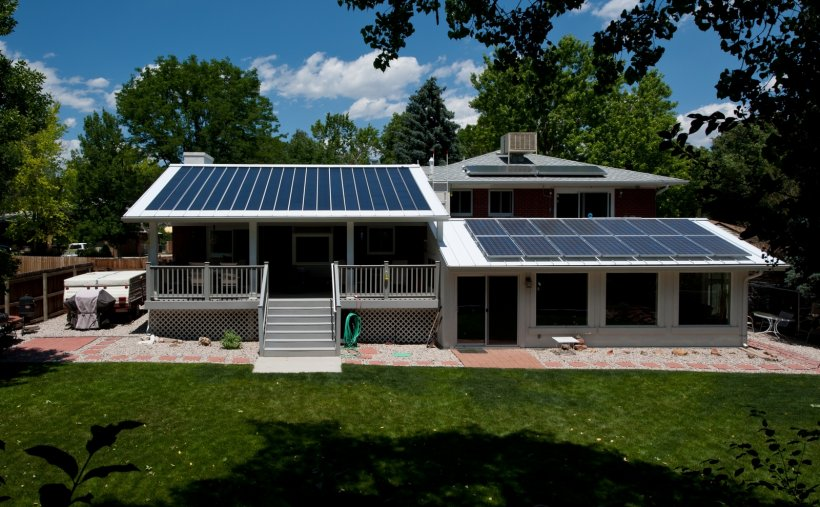 Active and Passive Solar Battery Storage Systems
